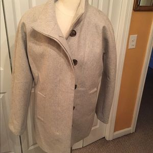 Women J Crew grey jacket Size 10 New